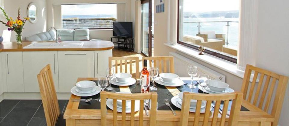 Sea View House Newquay Apartment 3