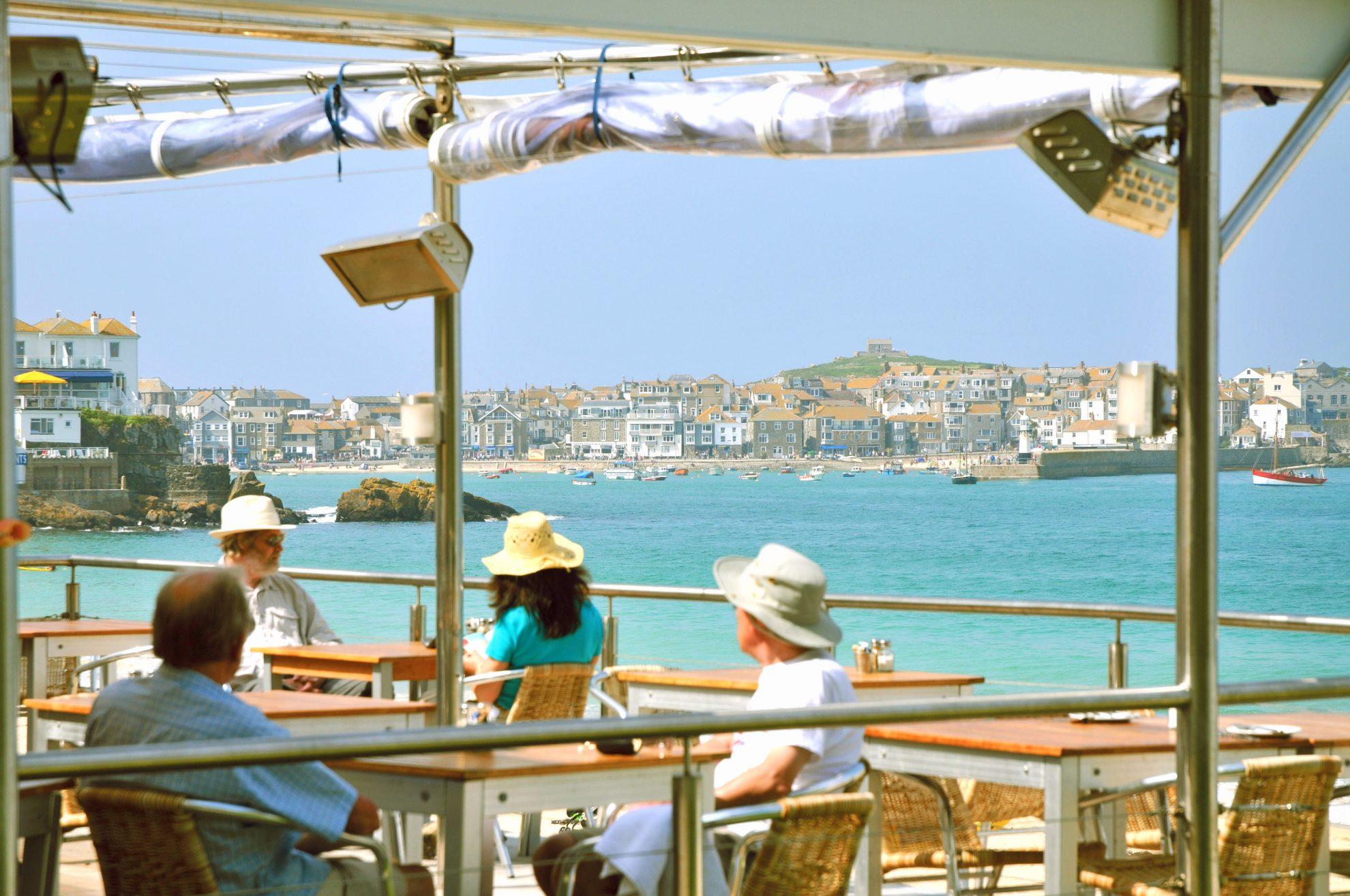 Beach Cafe Bar St Ives