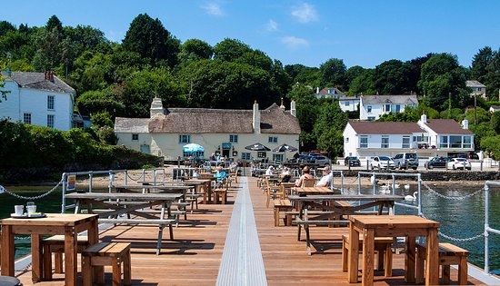 The Pandora Inn, Mylor, Cornwall