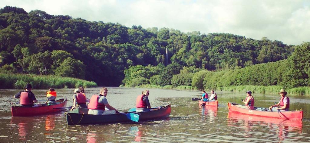 Canoe-tamar-treesurfers-tamar-trails-centre-river-tamar-canoeing