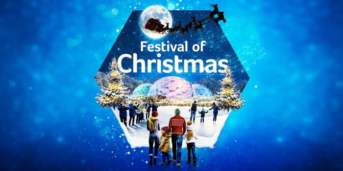 festival of christmas at eden project